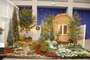 とうほく蘭展&バラとガーデニングフェスタ 2005_出展作品