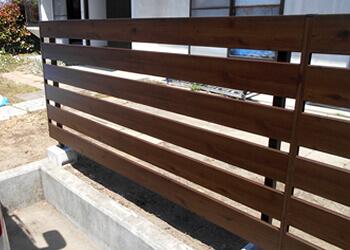 宮城・仙台の庭づくり泉伊藤造園 | 施工事例_フェンス