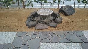 宮城・仙台の庭づくり泉伊藤造園 | 施工事例_蹲(つくばい)